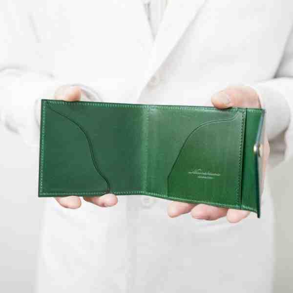 【新アイテム】人気のマネークリップ型二つ折り財布に新型が登場しました