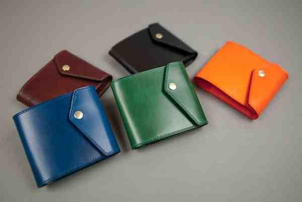 【新アイテム】マネークリップ型・財布の内革同色バージョンをWEBストアにアップいたしました