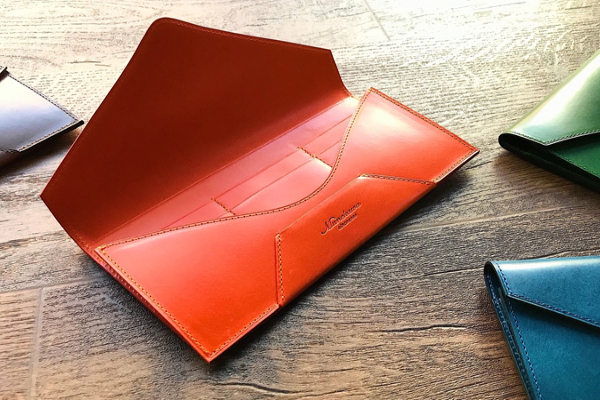 封筒型長財布Encaseの制作