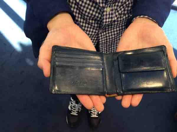 お客様のお財布をケアさせて頂きました。
