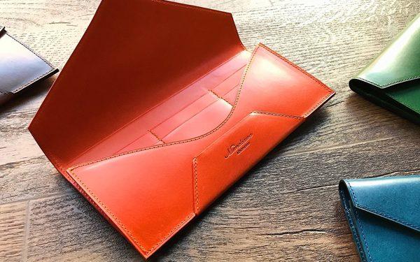 封筒型長財布 Encaseの製作