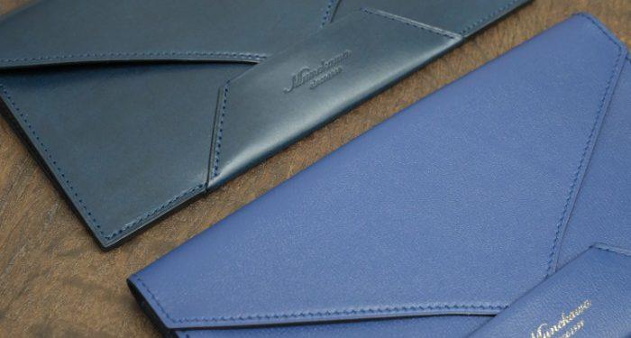 「おもてなしの心」が伝わるデザイン。封筒型長財布Encase