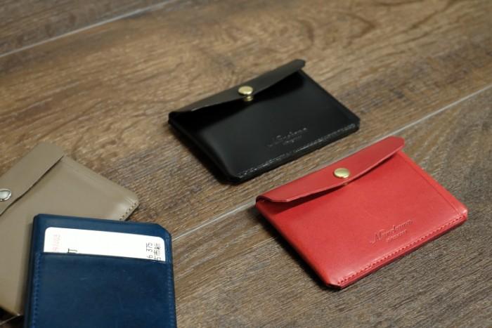 Munekawa staff's favorite item, Card case <Tuck>