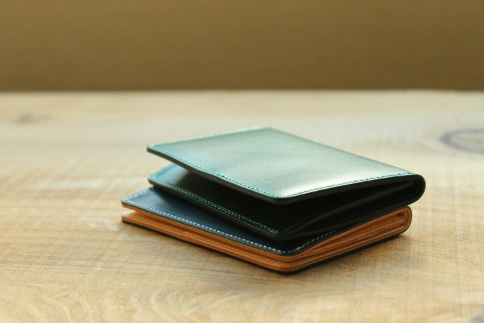 Business card case and working styles