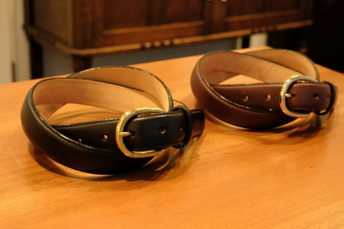 As a Gift to New adult, leather belt  Brass