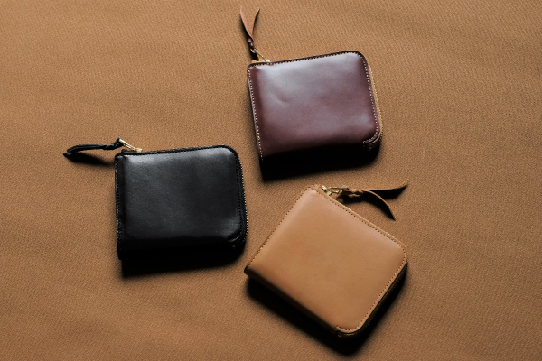L字ファスナー財布 Cramの限定バージョンが少数製作しました。
