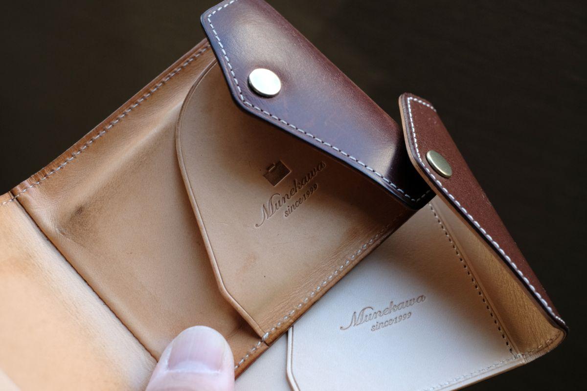 革財布のエイジング