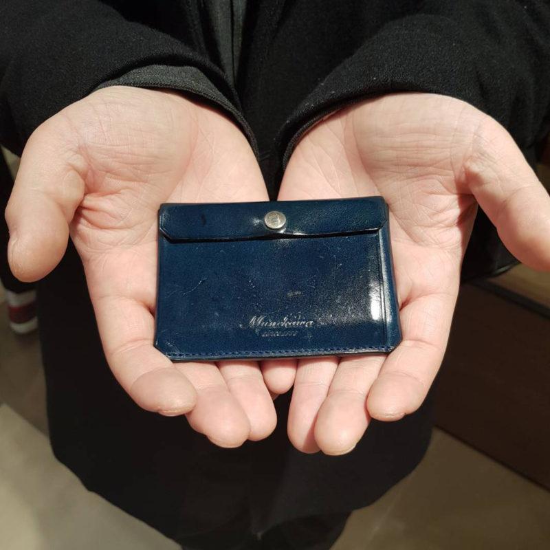 20代 男性 /カードケース Tuck ブルー