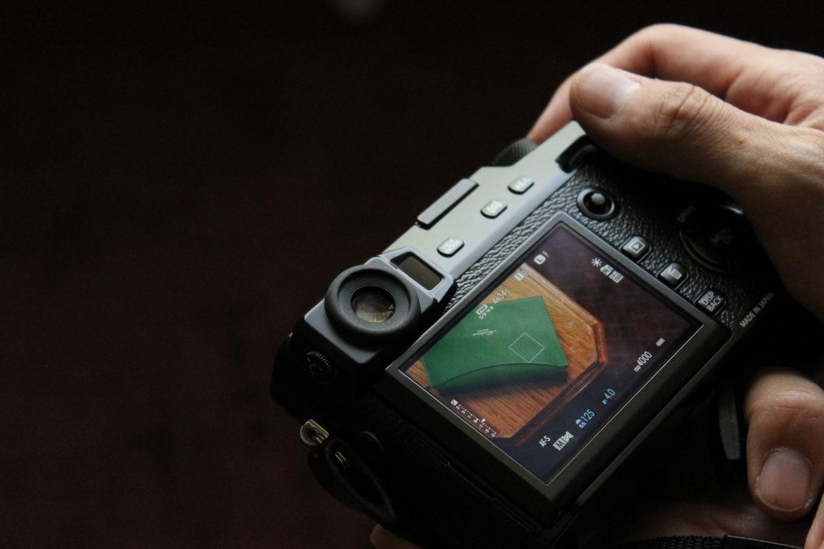 Munekawaのアイテムの撮影の様子