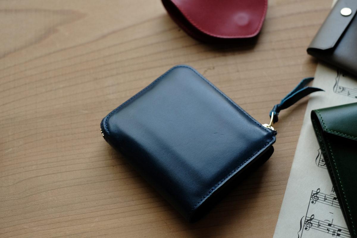 L字ファスナー財布Cramの製作