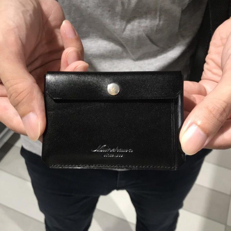 男性 / カードケース Tuck ブラック