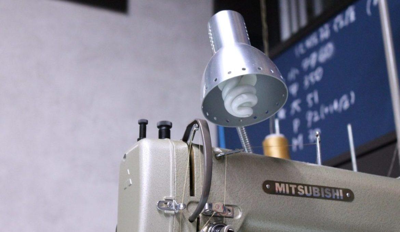 製作に使用しているミシンについて