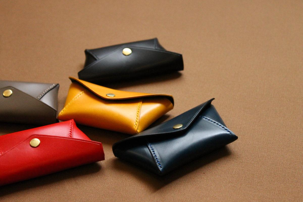 手縫いコインケース Holdの製作②