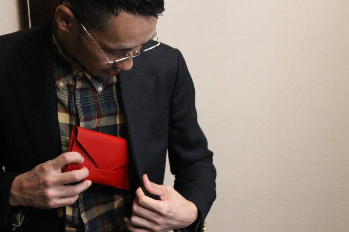 几帳面で凛とした雰囲気の長財布