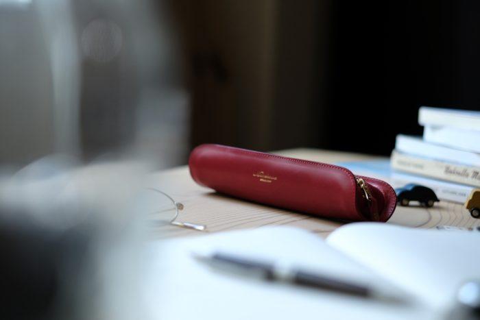 革のペンケースの付加価値