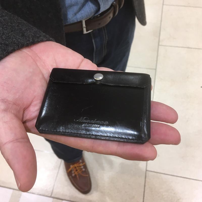 50代 男性 / カードケース tuck ブラック