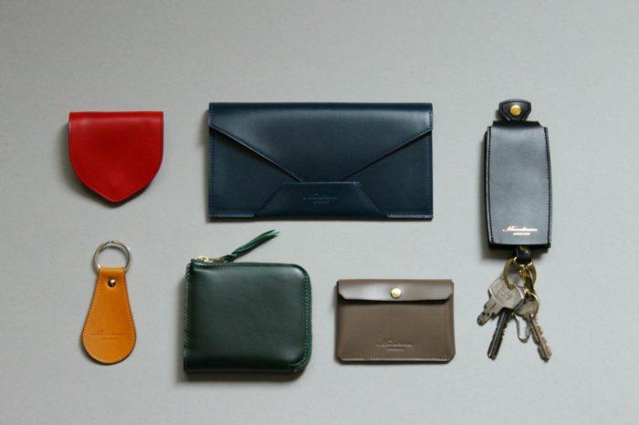 革財布・革小物のカラーの組み合わせ