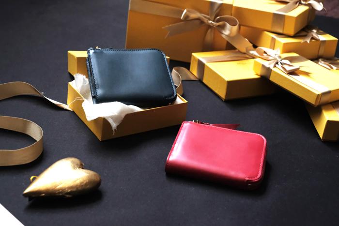 クリスマスギフトにオススメの財布。L字ファスナー財布Cram
