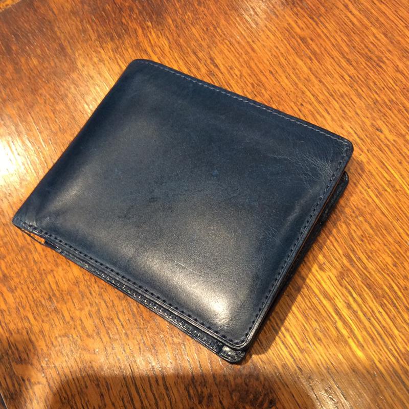 20代 男性 / 二つ折り財布 Feel Coin2 (内同色) ブルー