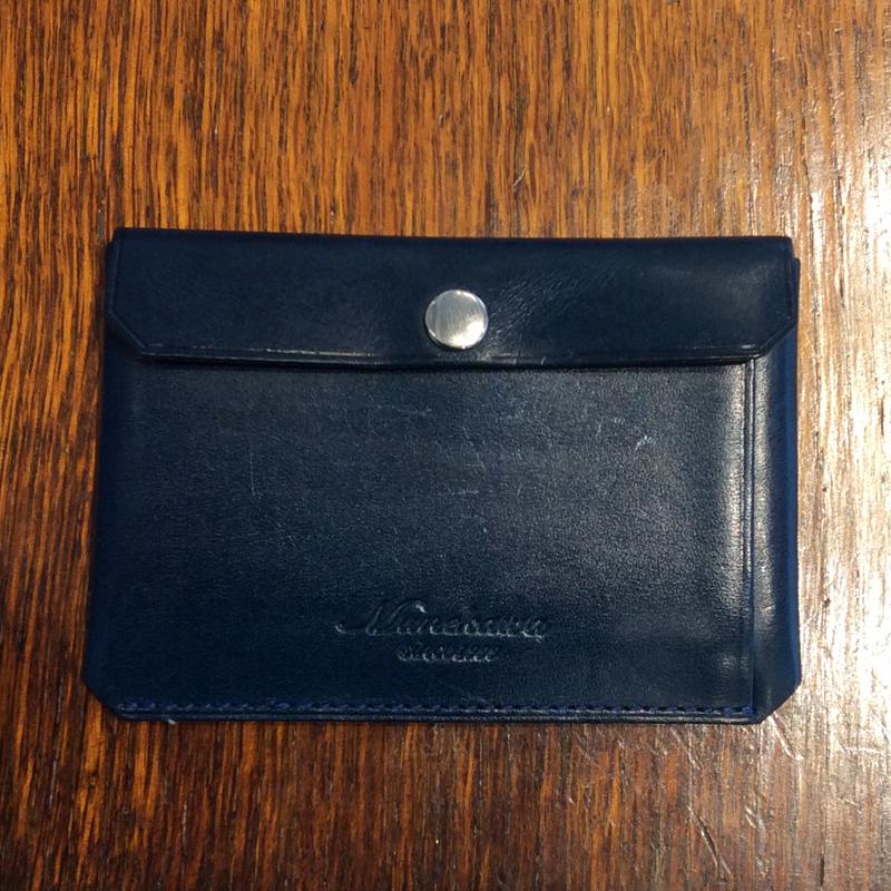 30代 男性 / カードケース Tuck ブルー