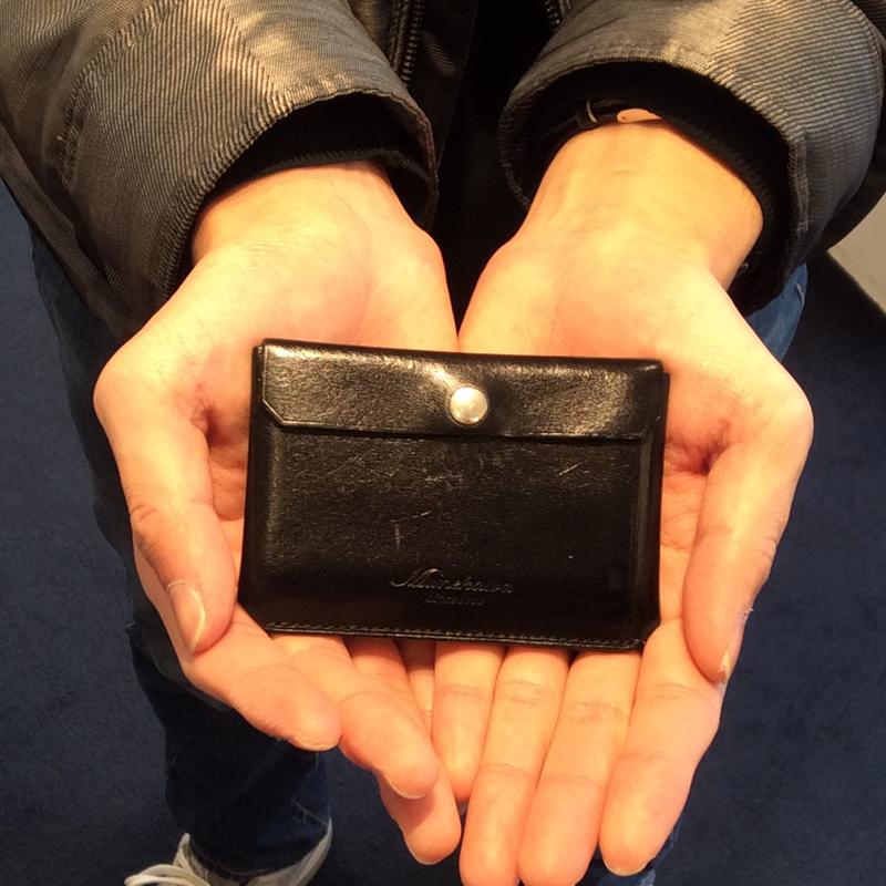 20代 男性 / カードケース Tuck ブラック