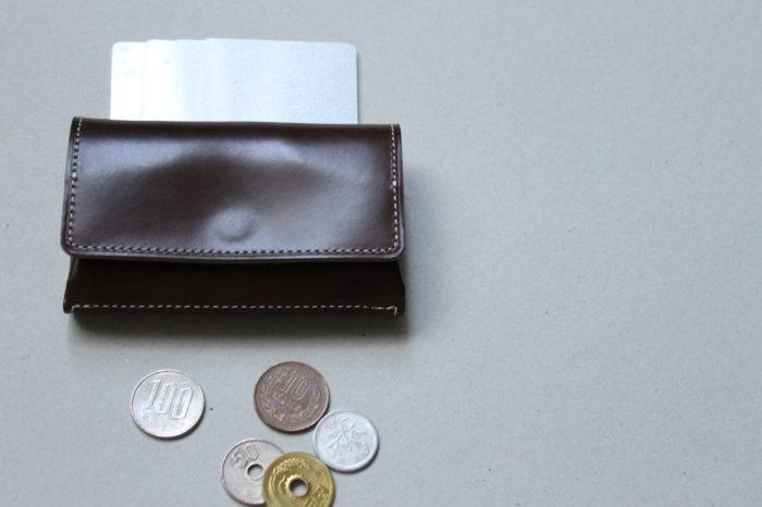サブの財布として使えるコインケース。