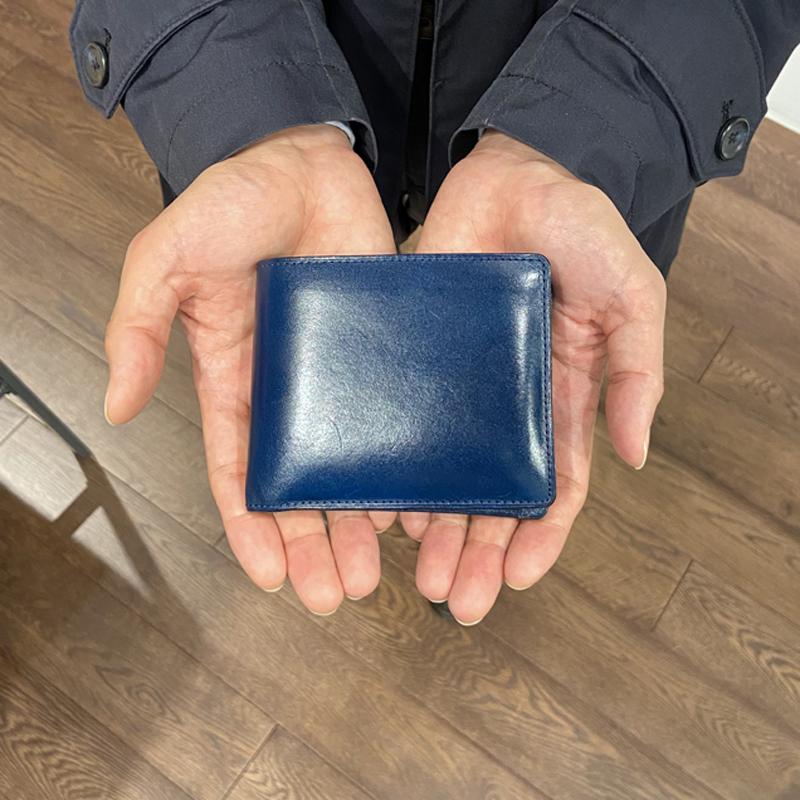 20代 男性 / 二つ折り財布 Feel Coin2 ブルー