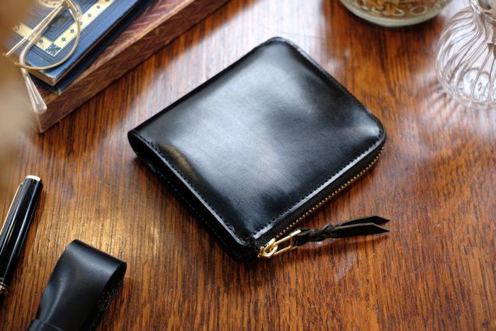 L字ファスナー財布 Cramのブライドルレザーバージョンのご紹介。