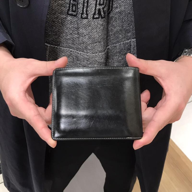20代 男性 / 二つ折り財布 Feel Coin ブルー
