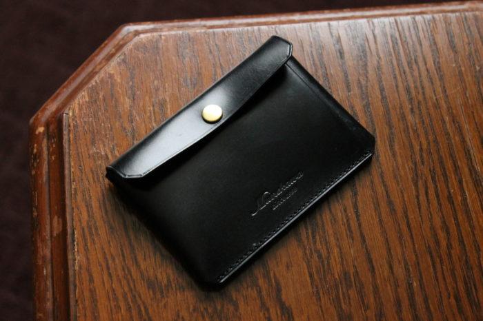 【3/13 19時~販売開始】ブライドルレザーバージョンのカードケース Tuck