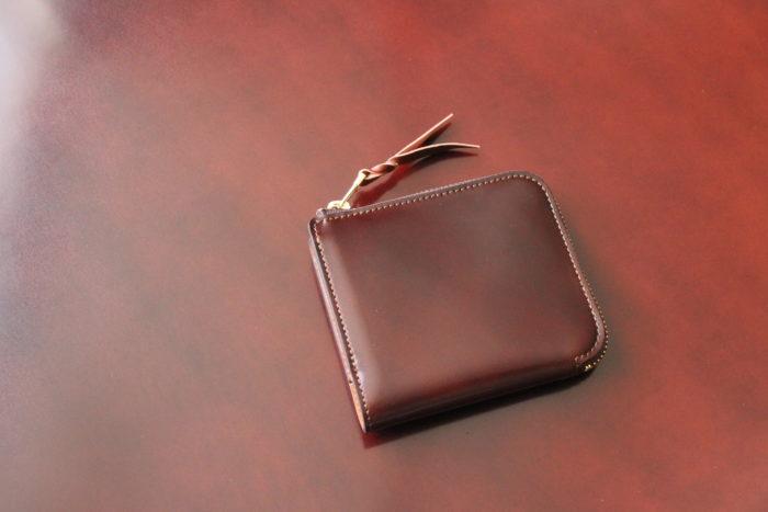 【3/24 17時から】数量限定、コードバン×ブッテーロのL字ファスナー財布 Cram