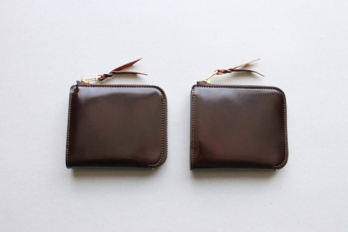 L字ファスナー財布 Cram限定バージョン販売開始しました。