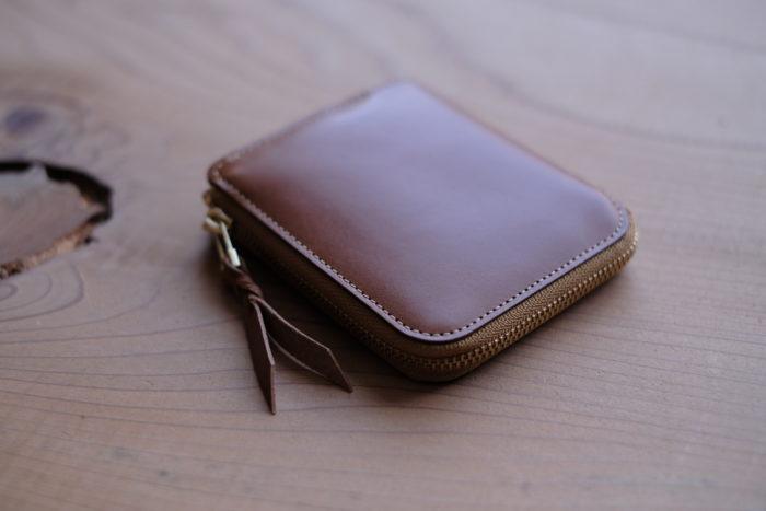 サブのお財布にも。L字ファスナー財布 Cram