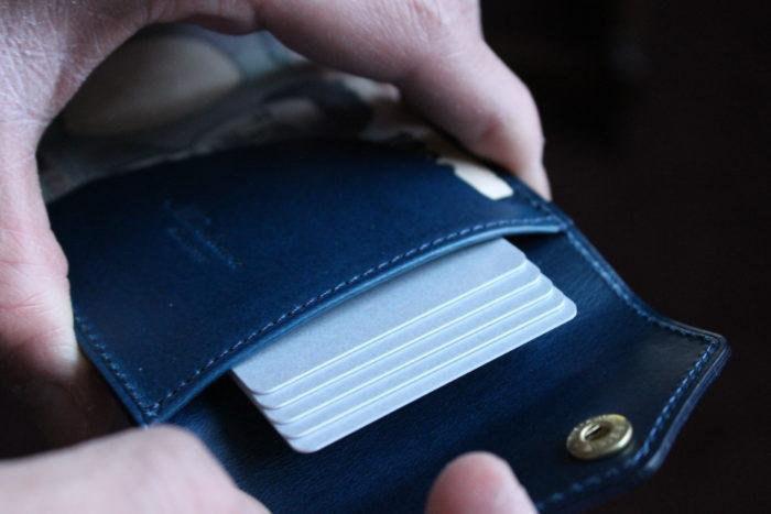 カードを沢山持てるコンパクトウォレット