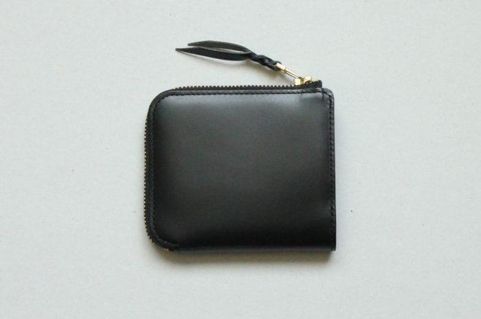 L字ファスナー財布 Cramのブラックが完成しました。