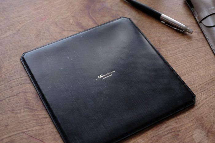 マウスパッド MP500のブライドルレザーバージョン