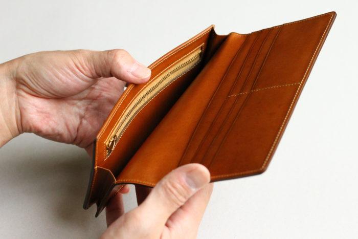 小銭入れ付き長財布の製作ストーリー