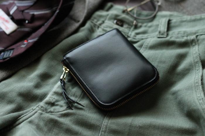 L字ファスナー財布 Cramが完成しました。