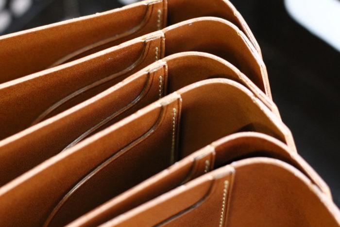 マネークリップ型財布 Carriage2が完成しました。