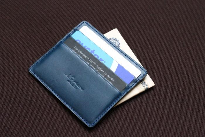 薄型ミニ財布 Wedgeの使い方