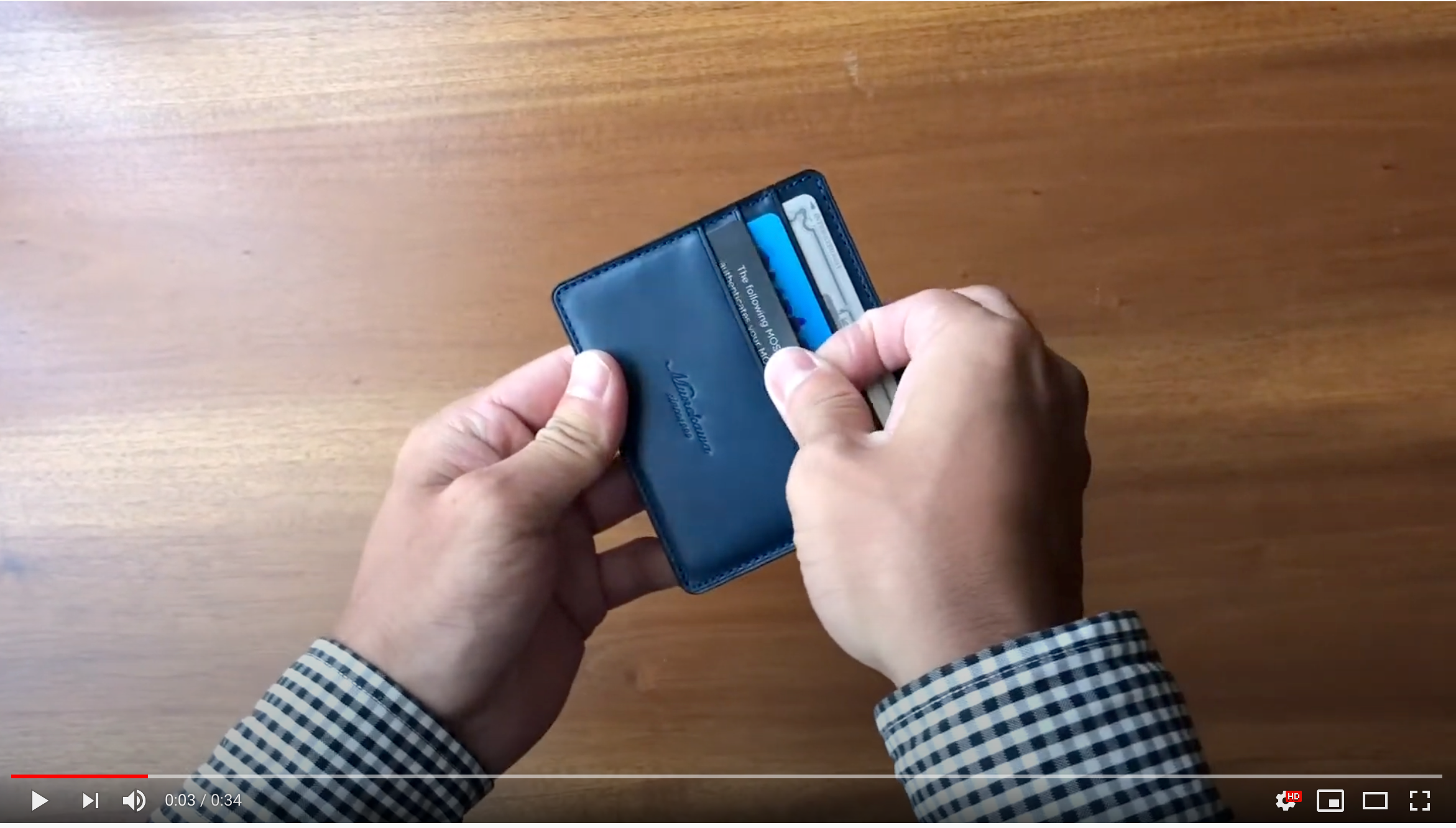 """How to use Thin and small wallet """"Wedge"""""""