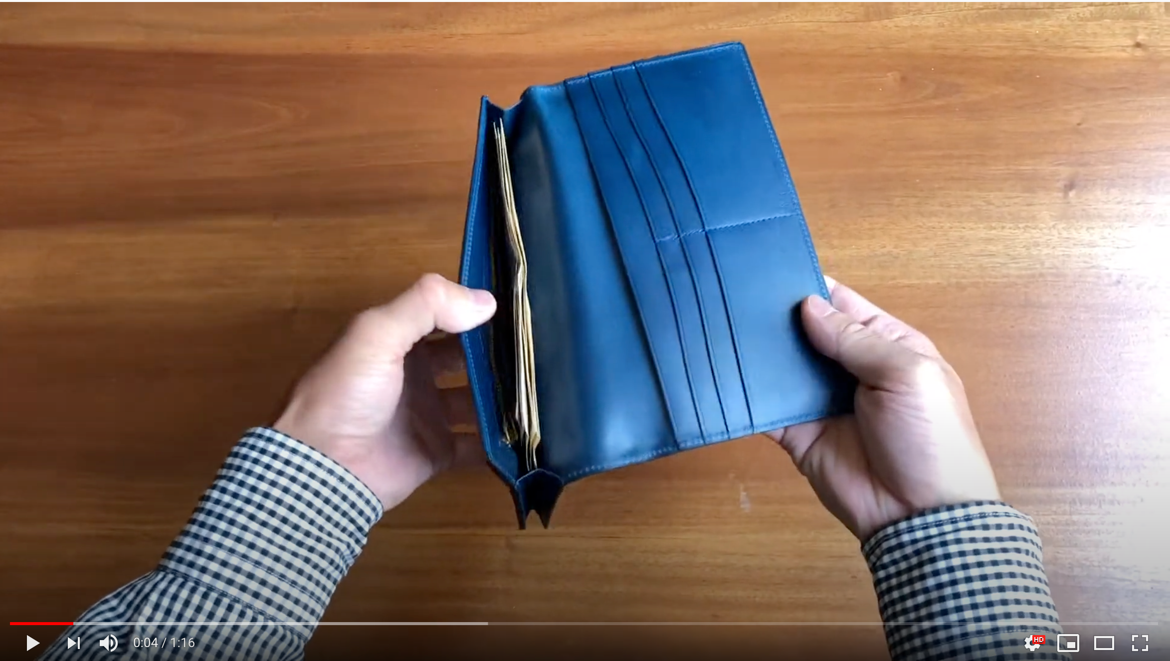 "How to use Long wallet with coin purse ""Untrad"""