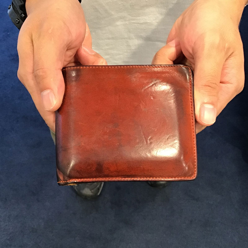 "30代 男性 / Bi-fold wallet ""Feel Coin2"""