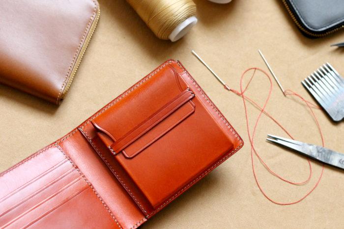 LOFTMANオーダー会アイテムのご紹介④手縫い二つ折り財布