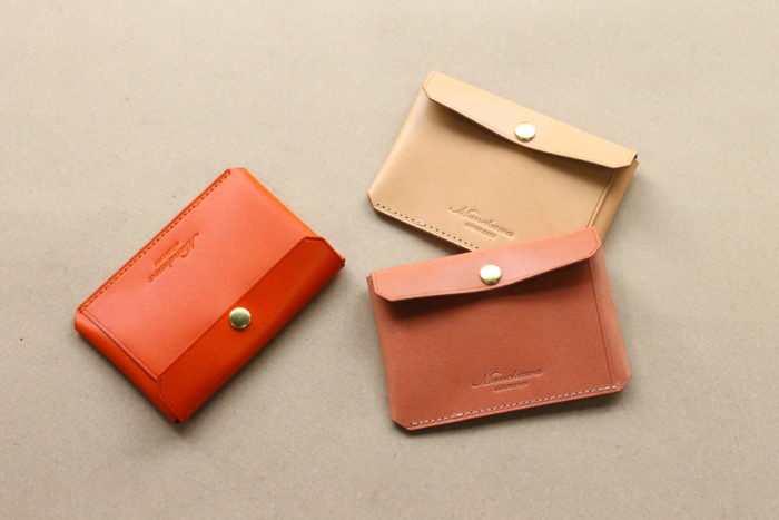 "Limited color – Card case ""Tuck"""