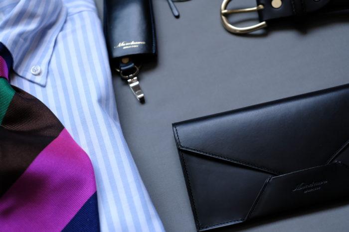 「所作を美しく」見せる長財布 Encase