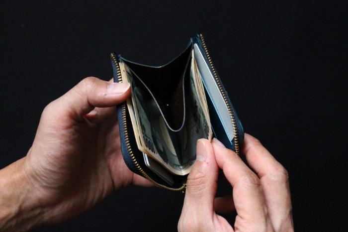 コンパクトで使いやすく。L字ファスナー財布の構造
