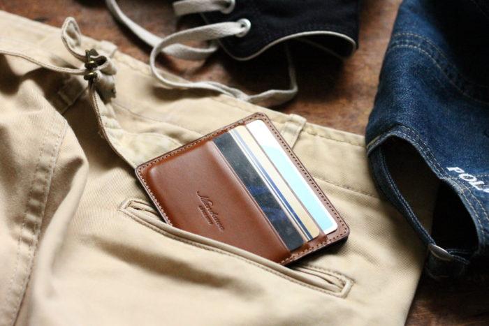 キャッシュレスと薄型ミニ財布 Wedge