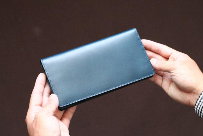 小銭入れ付きの長財布①長財布 Untrad