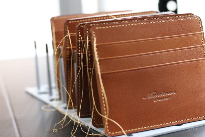 薄型ミニ財布 Wedgeが完成しました。